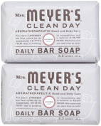 Mrs. Meyer's Clean Day Daily Bar Soap, Lavender, 160ml, 2 pk