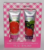 Grapefruit & Sugar Berries Scented 2PC Hand Cream Set