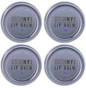 Skinny & Co. Coconut Oil Peppermint Lip Balm Tin - 4 Pack
