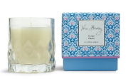 Vera Bradley Cotton Flower Scented Glass Decorative Candle in Gift Box