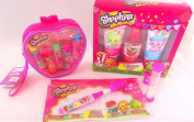 Shopkins Ultimate Overnight Travel Size Toiletries Bundle
