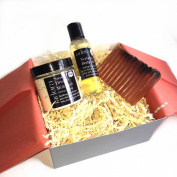 Balancing Bath Gift Set ~ 100% Essential Oils + 100% All Natural ~ 3 aromatherapy bath products to balance your every mood ~ Makes A Great Gift