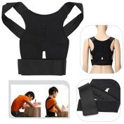 BephaMart Back Support Belt Lumbar Shoulder Posture Spine Correction Straighten Brace Shipped and Sold by BephaMart