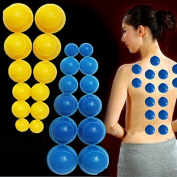BephaMart 12pcs Mini Silicone Chinese Traditional Medical Cupping Cups Shipped and Sold by BephaMart