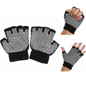 BephaMart Breathable Non-slip Cotton Fingerless Yoga Gloves Shipped and Sold by BephaMart