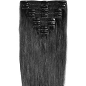 130g-160g 41cm 46cm 50cm 60cm True Double Weft Thick Full Head Set Clip in 100% Remy Human Hair Extensions Top Grade 7A For Woman Beauty 8 Pieces 18 Clips