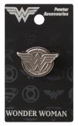 Wonder Woman Logo 2.5cm Pewter Lapel Pin