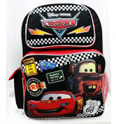 Backpack - Disney - Cars Tyres Black Large School Bag Boys New a05689