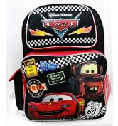 Backpack - Disney - Cars Tyres Black Large School Bag Boys New a05689