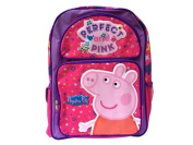 Backpack - Peppa Pig - Perfect and Pink School Bag New 121529