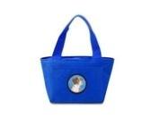 Caroline's Treasures SC9122BU Brittany Lunch or Doggie Bag, Large, Blue