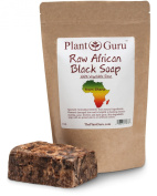 #1 Best Quality ★ Raw African Black Soap ★ Imported From Ghana 0.5kg. ★ Grade A ★ Professionally Packaged in Quality Heat Sealed Resealable Zip Lock Pouch