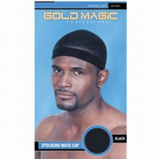 Gold Magic Stocking Wave Cap