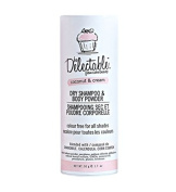 Delectable by Cake Beauty, Coconut & Cream Dry Shampoo & Body Powder