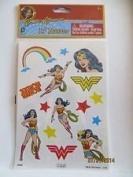Wonder Woman 15 Temporary Tattoos