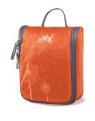 AoMagic Anti-tear Nylon Fabric Cosmetic Bag Large Capacity Travel Toiletry Bag Orange