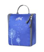 AoMagic Anti-tear Nylon Fabric Cosmetic Bag Large Capacity Travel Toiletry Bag Blue