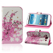 Fullkang Flower Flip Leather Case Cover for for  for  for  for  for Samsung     Galaxy S3 III i9300