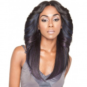 ISIS Brown Sugar Human Hair Blend Silk Lace Wig - BS602