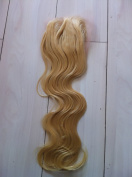light blonde #613 peruvian virgin remy hair 10cm x 10cm 46cm 50cm body wave light colour lace lace closure