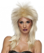 Best Short Blonde Hair Wig Men and Short Hair Wigs for Women for All Rocker Costume Wig Style. Costume Wigs Are the Latest Trends. If You Are Looking for Costume Wigs for Women or Costume Wigs for Men, This Short Blonde Rocker Costume Wig Will the Blon ..