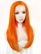 Ebingoo Wome's Lace Front Wig Long Orange Natural Wavy Wave Fashion Sexy Synthetic Heat Resistant Full Hair Party Wigs N2 3200 JLS345