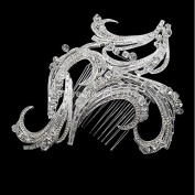 Luxurious Handmade Geometry Crystal Bridal Combs Hairpin Wedding Hair Accessories