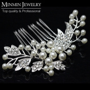 New Arrival Original Design Simulated Pearl Bridal Hair Combs Hairpin Hair Jewellery Wedding Accessories