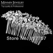 New Czech Rhinestone Imitation Gemstone Bridal Hair Combs Tiara Hair Accessories Wedding Hair Jewellery Hot Selling