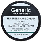 Generic Value Products Tea Tree Shape Cream compared to Paul Mitchell Tea Tree Shaping Cream