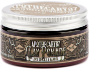 Apothecary 87, Lock, Stocke and Barrel, Mate Finish Clay Pomade for Shorter Textured Look