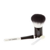 Icing Expert Black and White Cosmetic Travel Brush Set