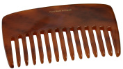 French Amie Pocket Book 10cm Small Handmade Soft Cellulose Acetate Non Static Hair Comb