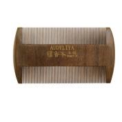 AUDYLIYA Beard Comb | Pocket Hair Comb | No Static Natural Aroma Handmade Green Sandalwood Comb | Free Premium Giftbox