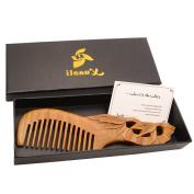 Xuanli® Natural SandalWood Comb Hair Care Anti Static Wooden Hair Massage Natural Brush Beard Comb