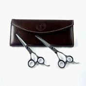 High-quality Scissor 2pcs (Cut Hair / Thin Cutting) + Leather Case