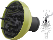 Universal Hair Dryer Diffuser, Hair diffuser for curly hair or wavy hair, Hair diffuser attachment -Green
