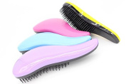 D-COOL Glide Thru Detangler Hair Comb or Brush - No More Tangle - Adults & Kids