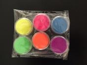 Neon Glitter - Uv Blacklight Reactive Face & Body Glitter, 6 Colours