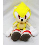Plush Backpack - Sonic The Hedgehog - Super Gold Soft Doll 46cm New Toys sh12298