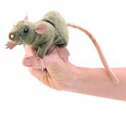 Finger Puppet - Folkmanis - Mini Rat New Animals Soft Doll Plush Toys 2756