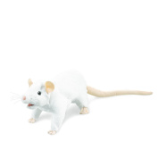 Hand Puppet - Folkmanis - Rat White New Animals Soft Doll Plush Toys 3038