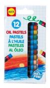 12 Oil Pastels