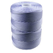 C-LON Bead Cord, Periwinkle - .5mm, 92 Yard Spool