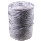 C-LON Bead Cord, Pale Heather - .5mm, 92 Yard Spool