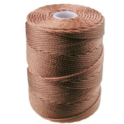 C-LON Bead Cord, Nutmeg - .5mm, 92 Yard Spool