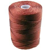 C-LON Bead Cord, Mahogany - .5mm, 92 Yard Spool