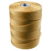 C-LON Bead Cord, Light Maize - .5mm, 92 Yard Spool