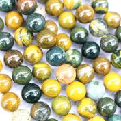 Natural Ocean Jasper Round Gemstone Beads for Jewerly Bracelet Making