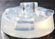 Clear-silicone Ring mould. 3pc-Size 9.
